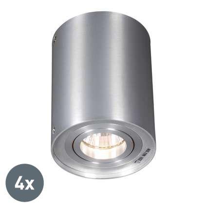 Set-van-4-spots-aluminium-draai--en-kantelbaar---Rondoo-up