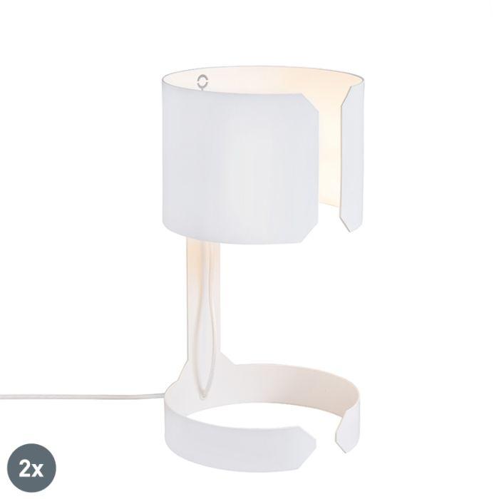 Set-van-2-design-tafellampen-wit---Waltz