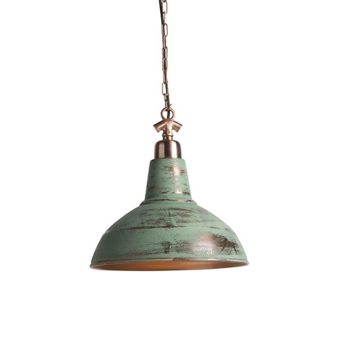 Set-van-2-vintage-hanglampen-koper---Goliath-large