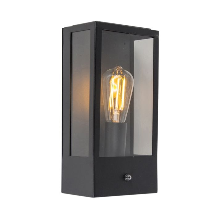 Buitenwandlamp-zwart-met-licht-donker-sensor---Rotterdam-1