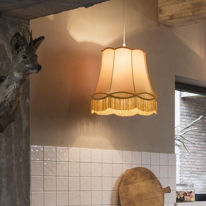 Retro-hanglamp-goud-45-cm---Granny