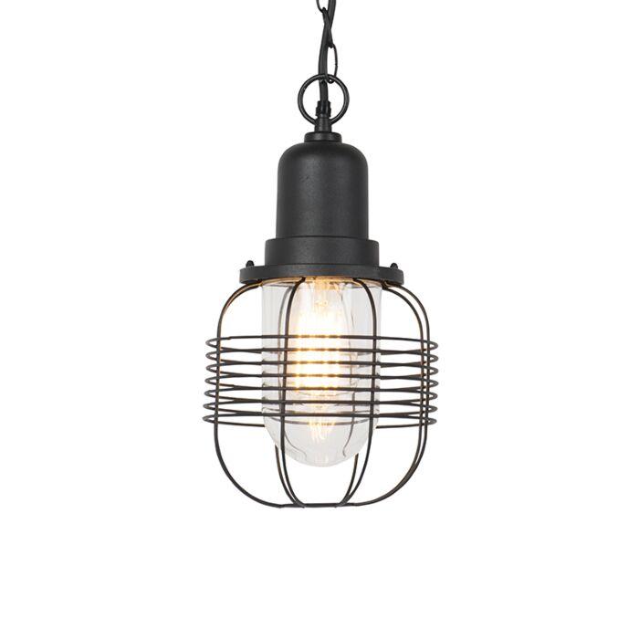 Landelijke-buiten-hanglamp-zwart-IP44---Guardado