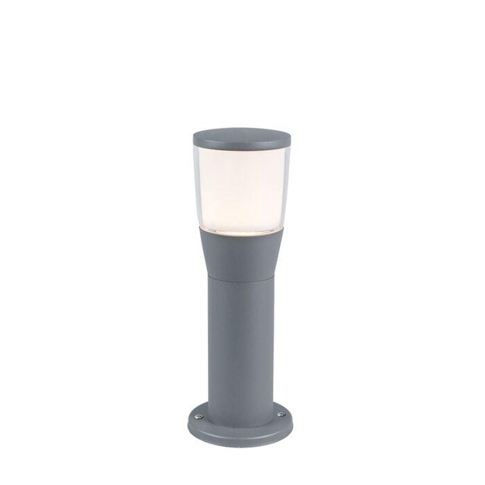 Moderne-buitenlamp-grijs-35cm-incl.-LED---Mona