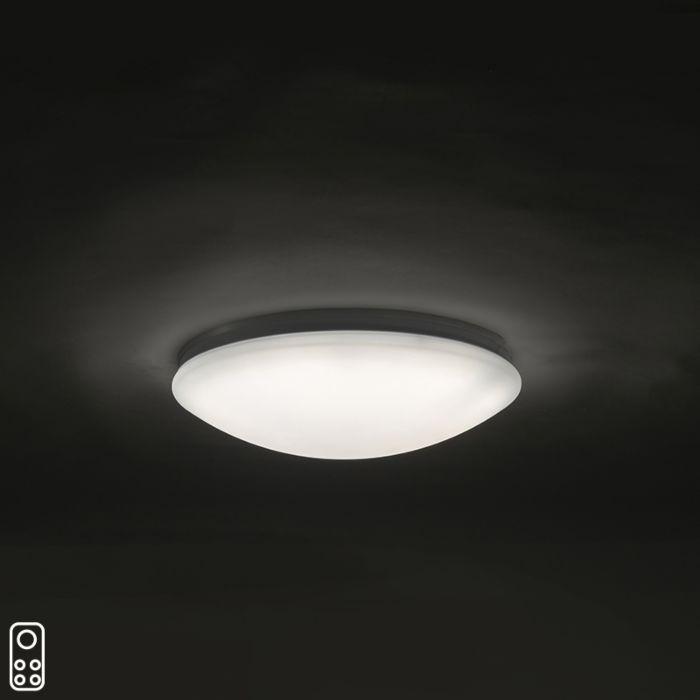 Plafondlamp-40-cm-incl.-LED-met-afstandsbediening---Extrema