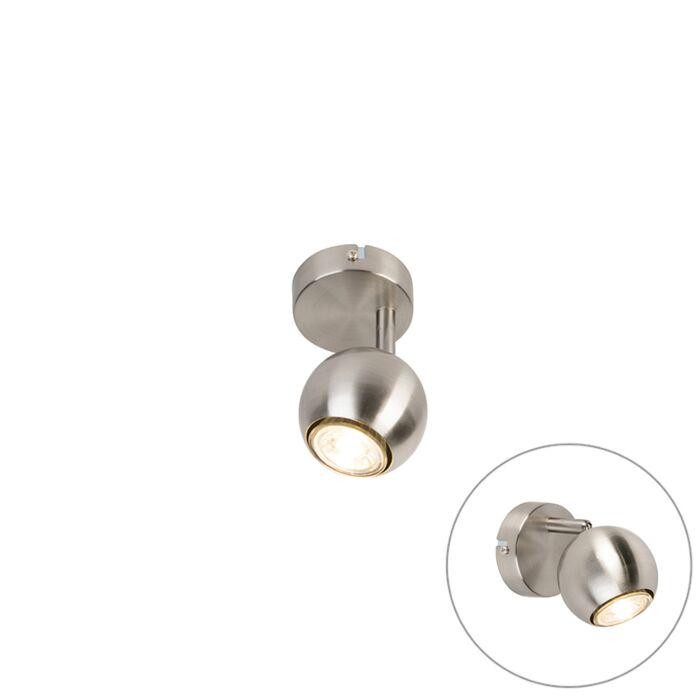 Retro-ronde-spot-staal-1-lichts---Gissi
