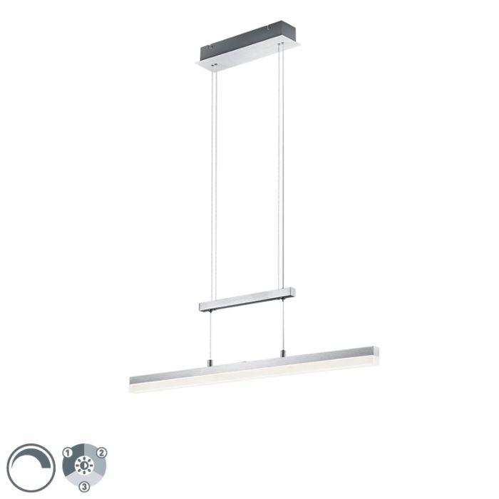 Langwerpige-hanglamp-aluminium-incl.-LED-3-staps-dimbaar---Calvaro