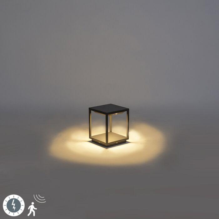 Buitenlamp-incl.-solar,-bewegingsmelder-en-schemerschakelaar---Volendam