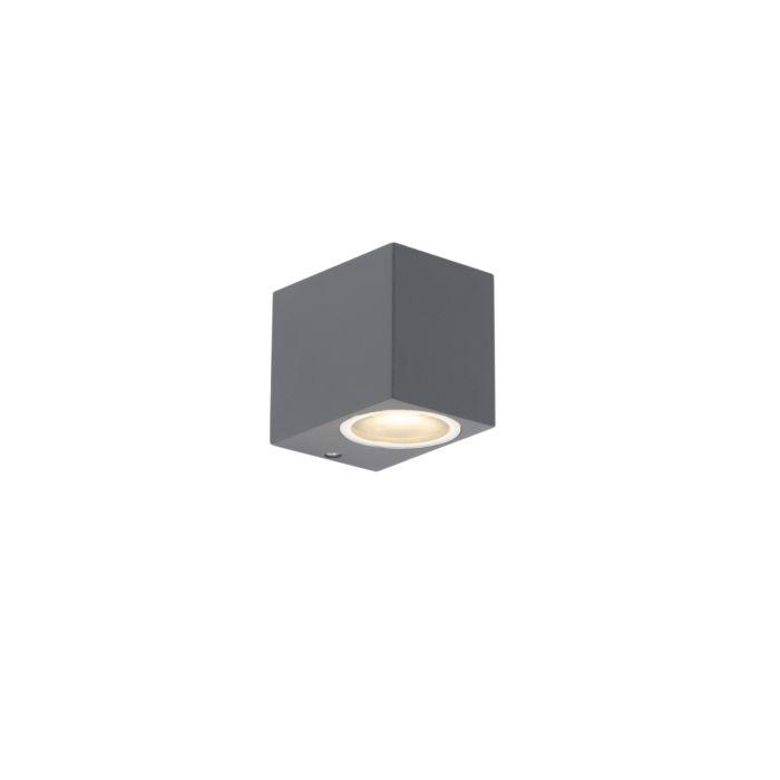 Set-van-2-moderne-wandlampen-antraciet-IP44---Baleno-I