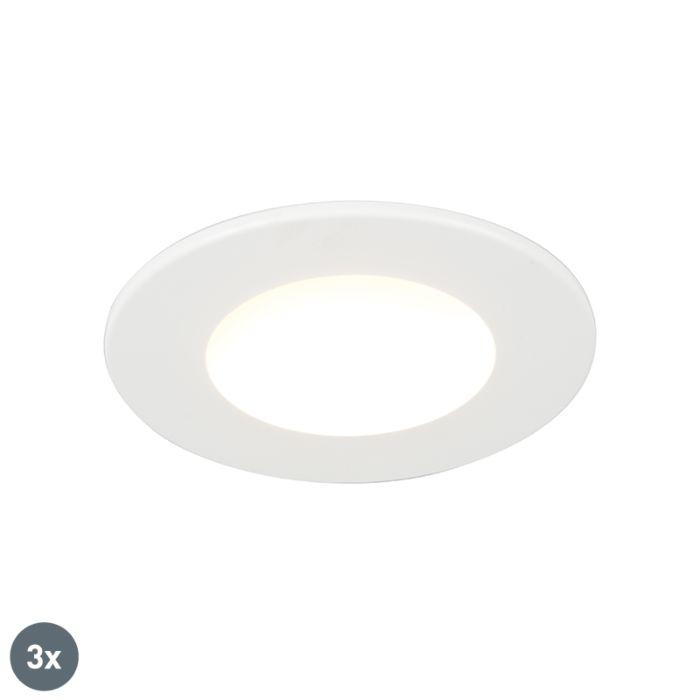 Set-van-3-badkamer-inbouwspots-rond-LED-5W-wit-waterdicht---Blanca