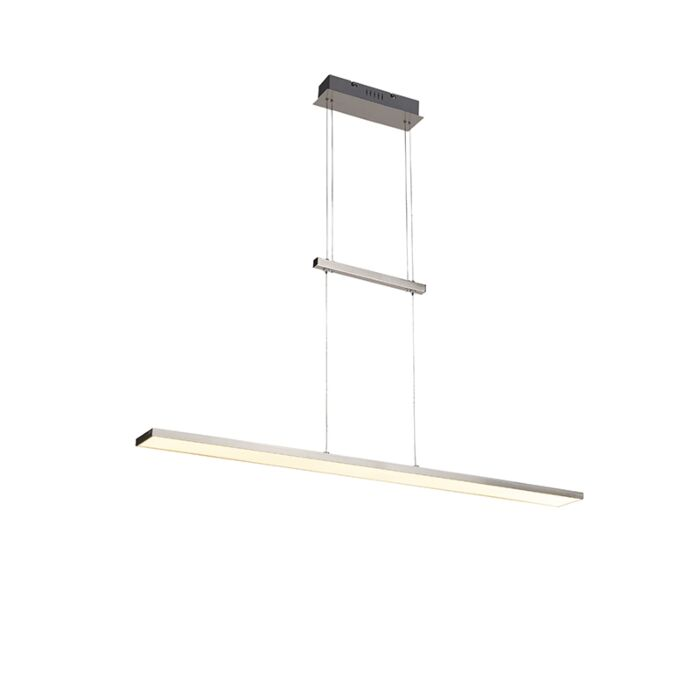 Moderne-hanglamp-staal-incl.-LED---Riley