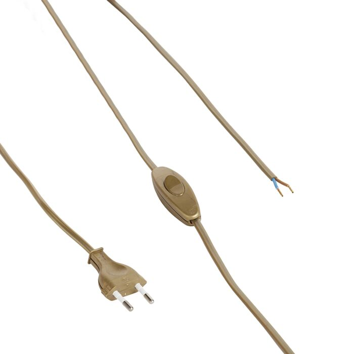 Aansluitkabel-80-120cm-met-schakelaar-en-stekker-goud