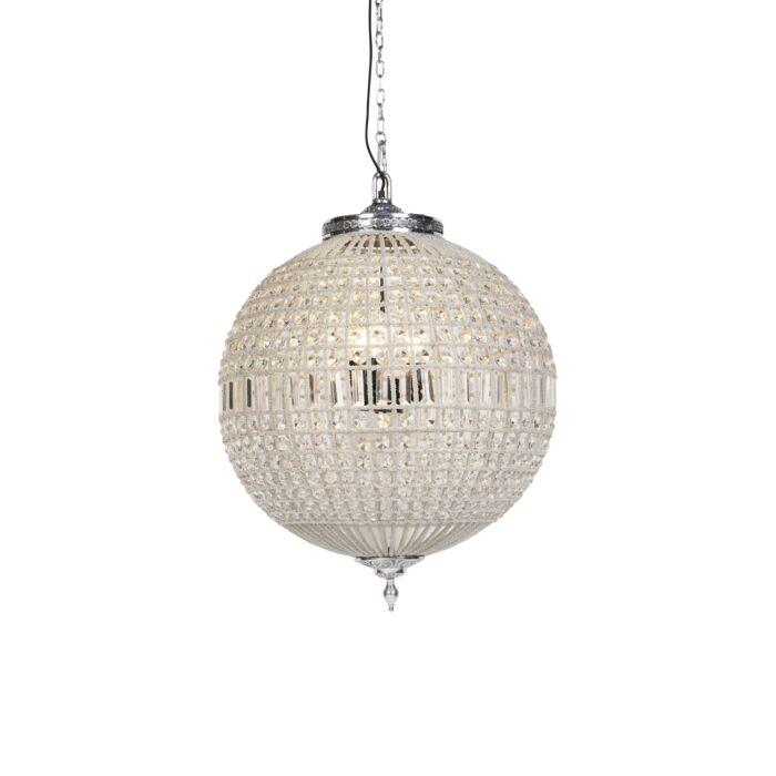 Art-Deco-hanglamp-kristal-65cm-zilver---Kasbah