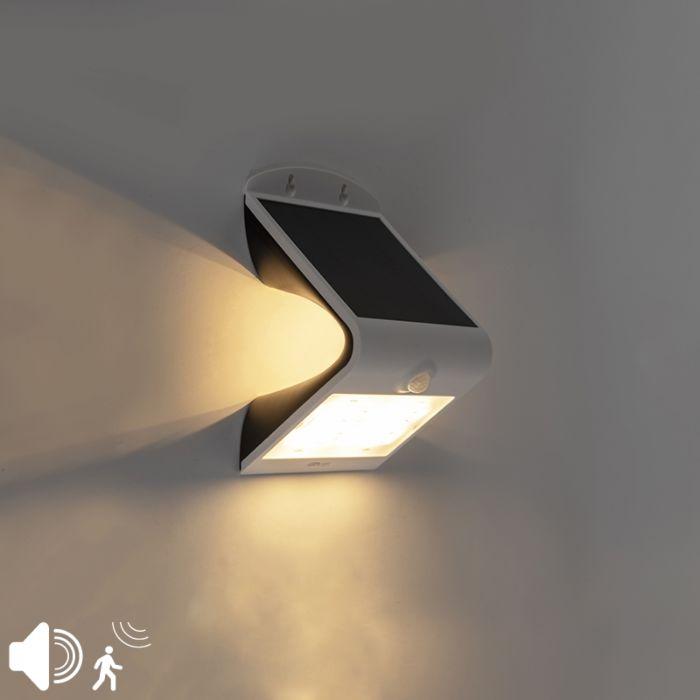 Straler-wit-IP65-incl.-LED-met-beweging-sensor-3,2W---Daya