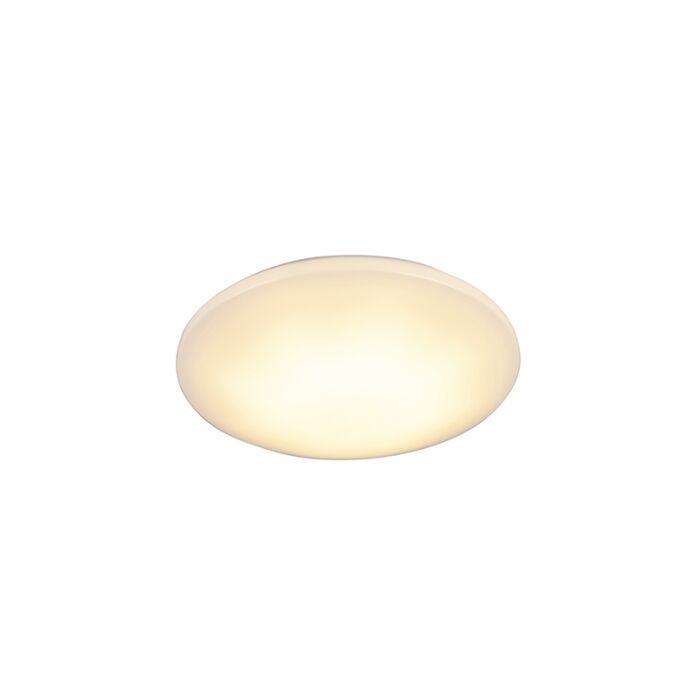 Moderne-plafonnière-wit-incl.-LED-15W-IP44---Tiho