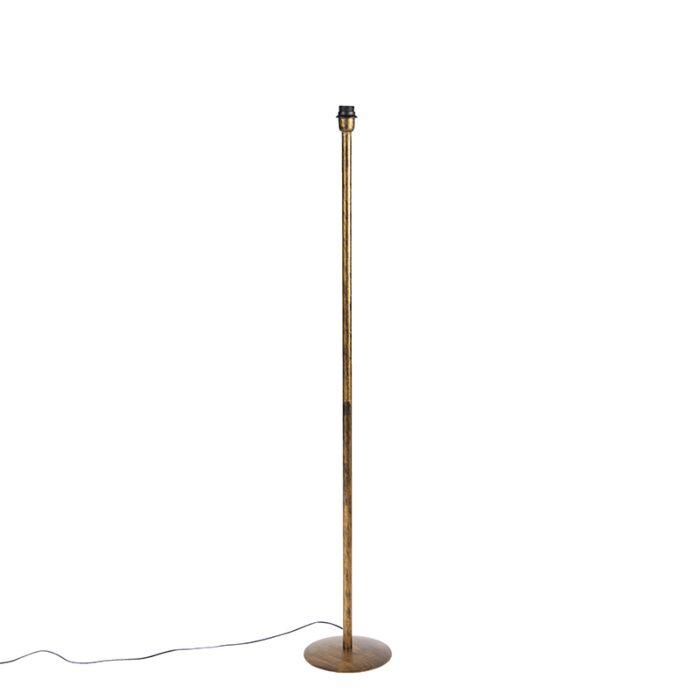Klassieke-vloerlamp-goud-zonder-kap---Simplo