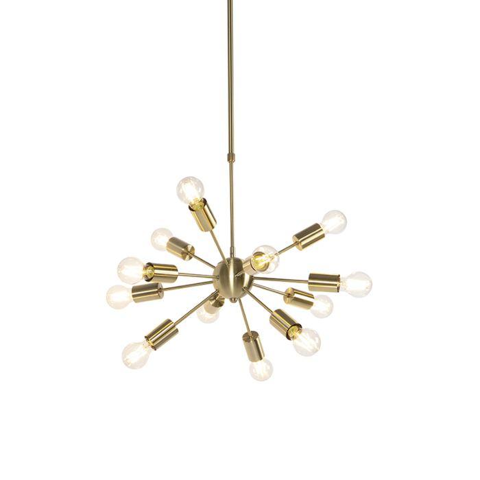 Art-deco-hanglamp-goud-60-cm-12-lichts-verstelbaar---Facil
