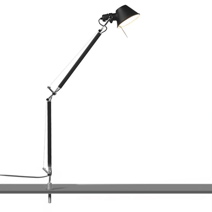 Tafellamp-zwart-desk-support---Artemide-Tolomeo-Tavolo