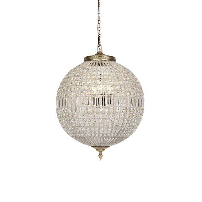 Art-Deco-hanglamp-kristal-met-goud-65-cm---Kasbah