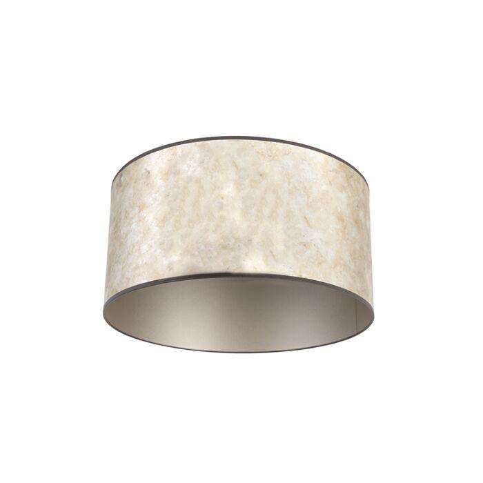 Lampenkap-zilver-50/50/25