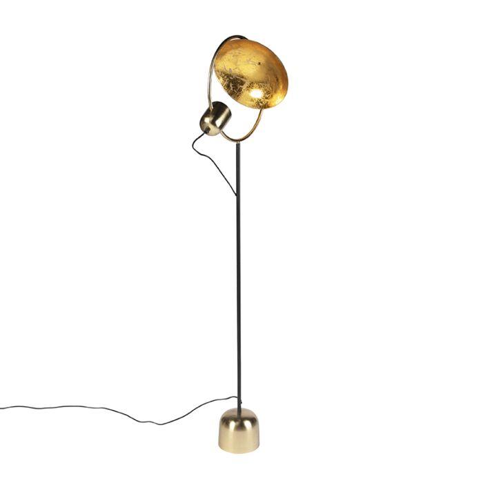 Design-vloerlamp-goud-met-zwart---Cosmo