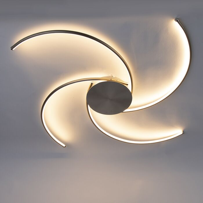 Design-plafondlamp-staal-incl.-LED---Alice