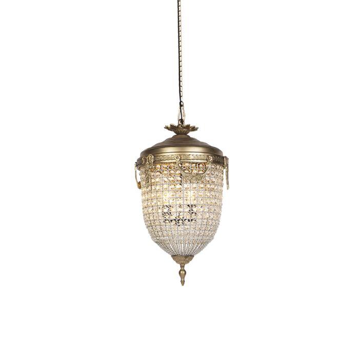 Art-Deco-hanglamp-kristal-40cm-goud---Cesar