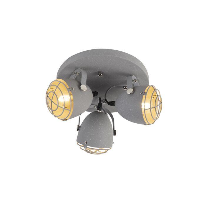 Industriele-verstelbare-spot-grijs-betonlook-3-lichts---Rebus