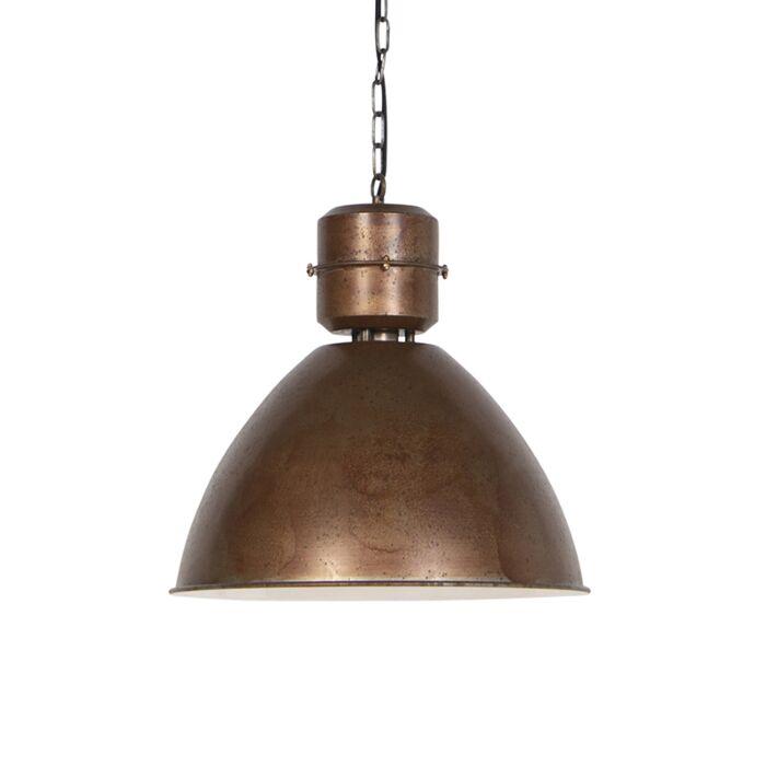 Industriele-hanglamp-brons---Flynn