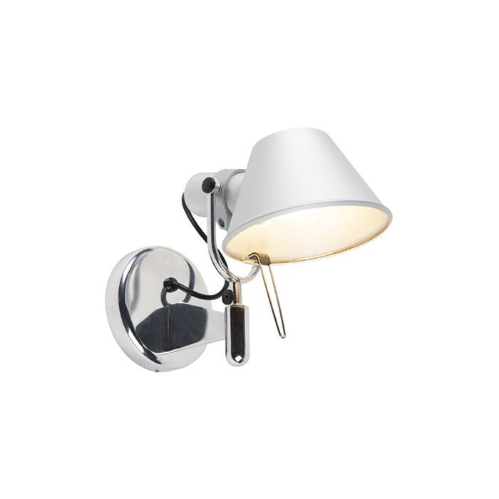 Artemide-wandlamp-verstelbaar---Artemide-Tolomeo-Faretto