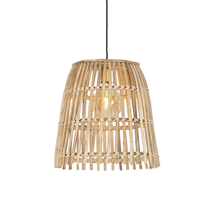 Landelijke-hanglamp-bamboe-34-cm---Cane-Bucket