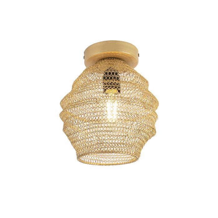 Oosterse-plafondlamp-goud---Nidum-Bene