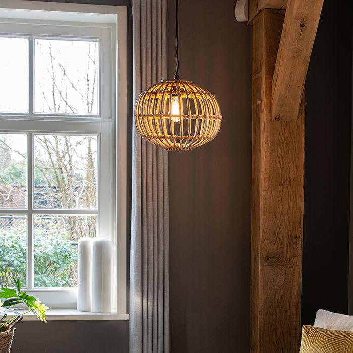 Landelijke-hanglamp-bamboe-40-cm---Canna