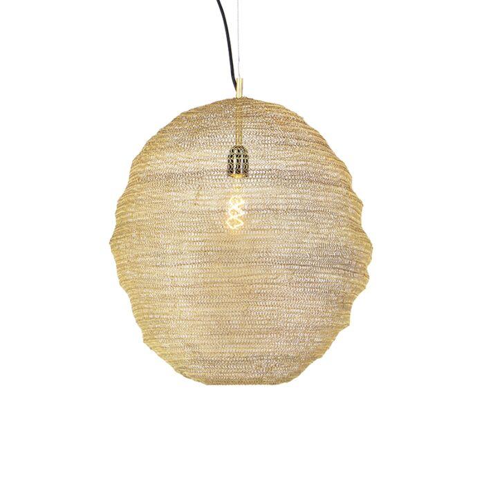 Oosterse-hanglamp-goud---Nidum-Gran