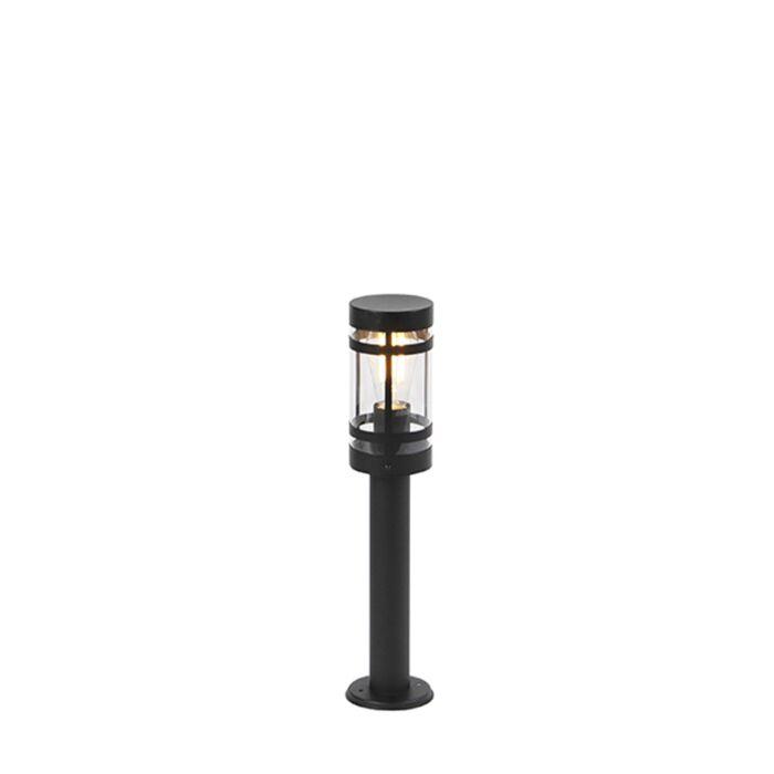 Moderne-buitenlamp-zwart-50-cm-IP44---Gleam