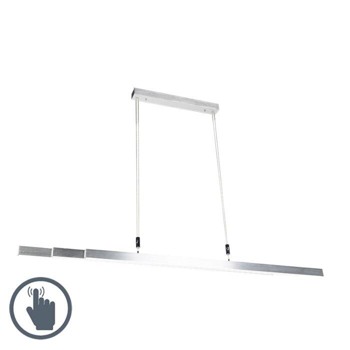 Moderne-hanglamp-aluminium-incl.-LED---Plazas-3