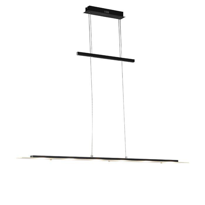 Design-hanglamp-zwart-incl.-LED---Platina