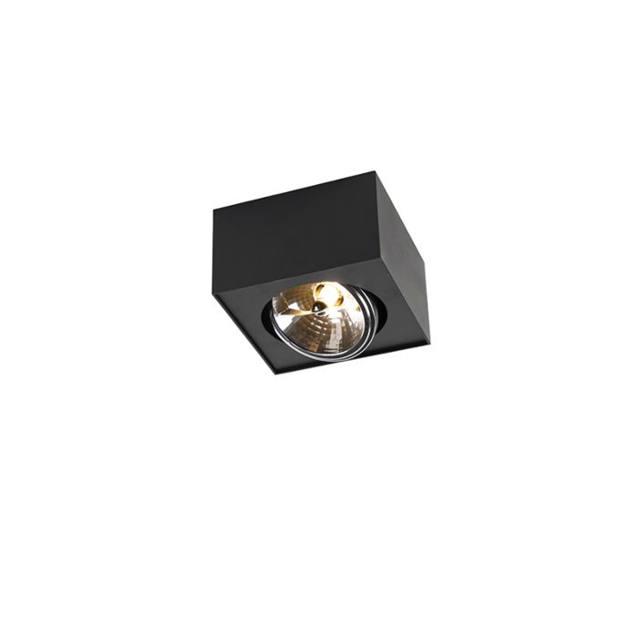 Design-spot-vierkant-1-lichts-incl.-G9-zwart---Kaya