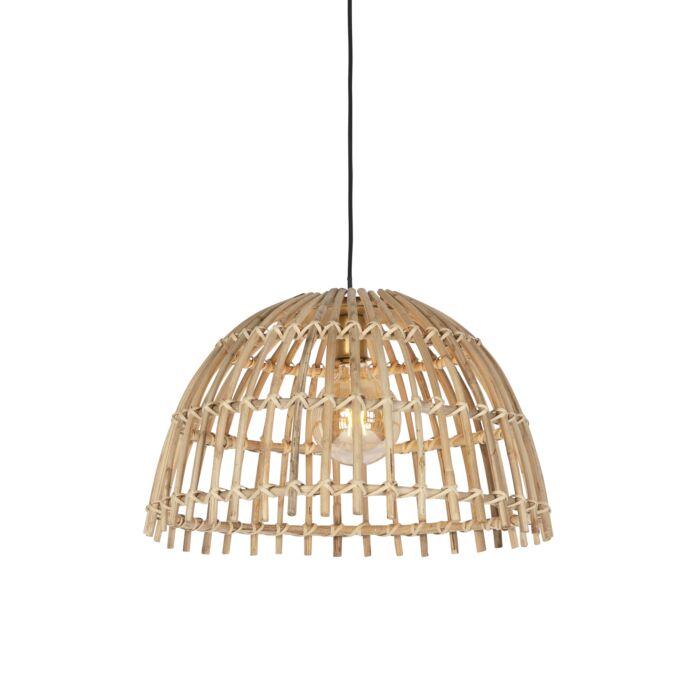 Landelijke-hanglamp-bamboe-55-cm---Cane-Magna