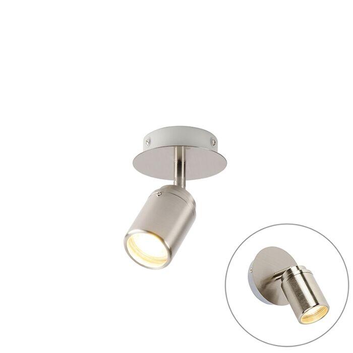 Moderne-badkamer-spot-staal-IP44---Ducha