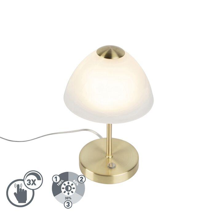 Design-tafellamp-goud-dimbaar-incl.-LED---Joya