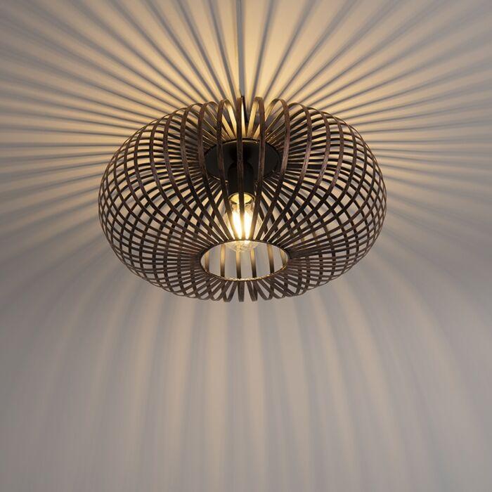 Design-ronde-plafondlamp-roestbruin---Johanna