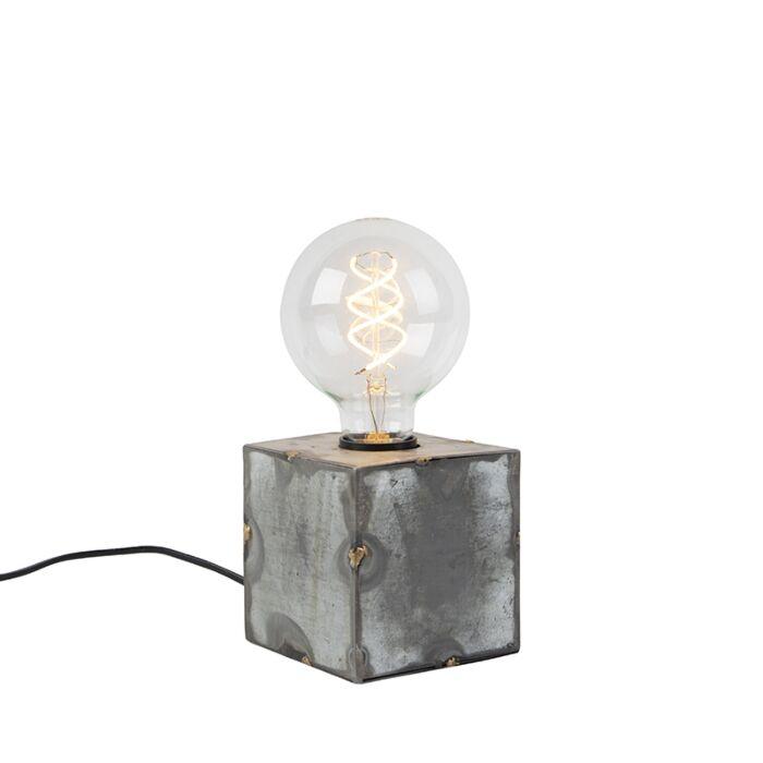 Industriële-tafellamp-grijs---Samia