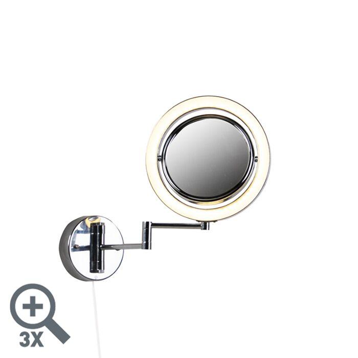 Design-badkamerspiegel-chroom-incl.-LED-verstelbaar-IP44---Vicino