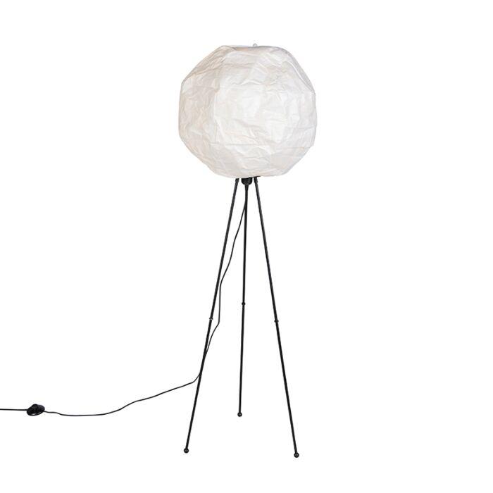 Scandinavische-papieren-vloerlamp-wit---Pepa-Ball