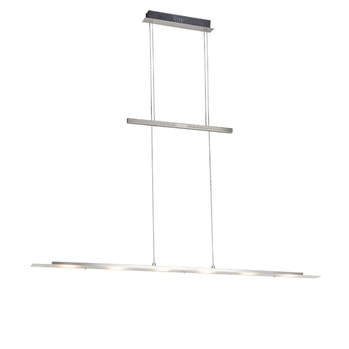 Design-hanglamp-staal-incl.-LED---Platina