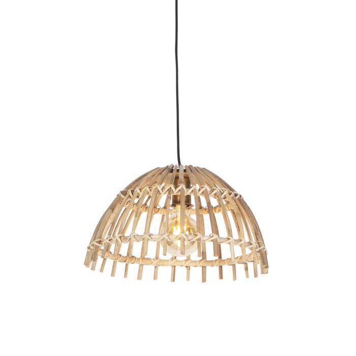 Landelijke-hanglamp-bamboe-42-cm---Cane-Magna