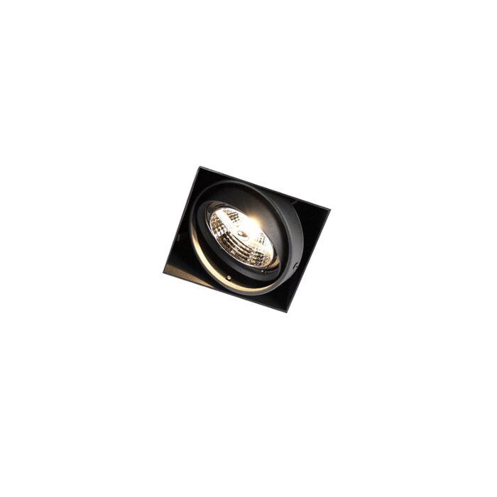 Inbouwspot-zwart-GU10-AR70-trimless---Oneon