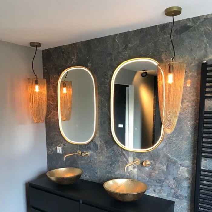 Oosterse-hanglamp-goud---Catena-Ferro