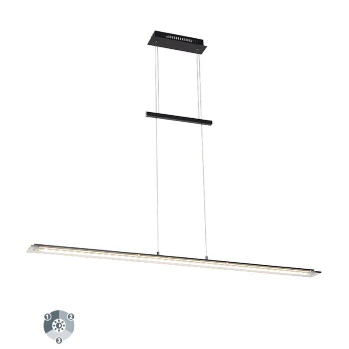 Design-hanglamp-zwart-135-cm-incl.-LED-3-staps-dimbaar--Cavolo