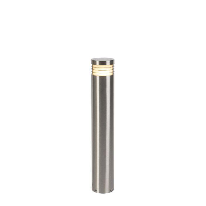 Moderne-staande-buitenlamp-staal-60-cm-IP44---Doc